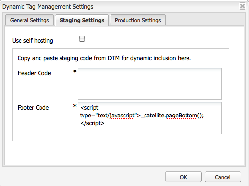 Integrating with Adobe Dynamic Tag Management