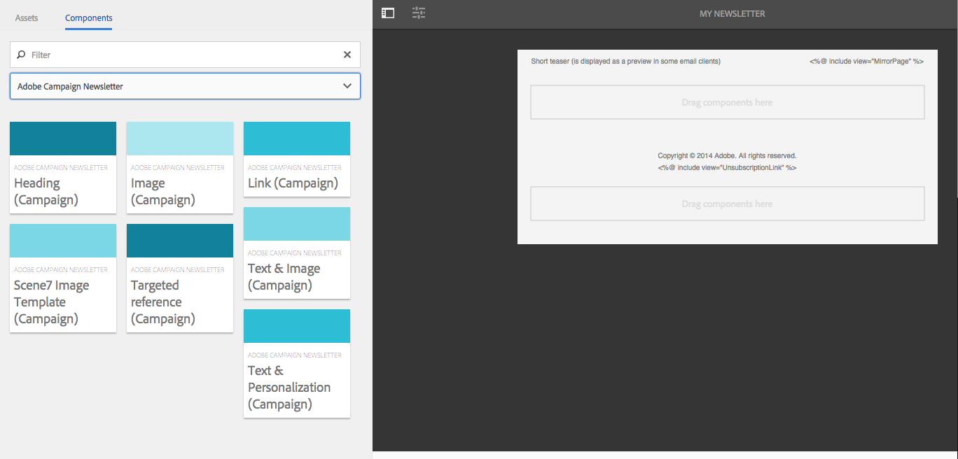 Working with Adobe Campaign 6.1 and Adobe Campaign Standard