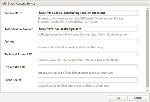 Configure Asset tagging using the Smart Content Service