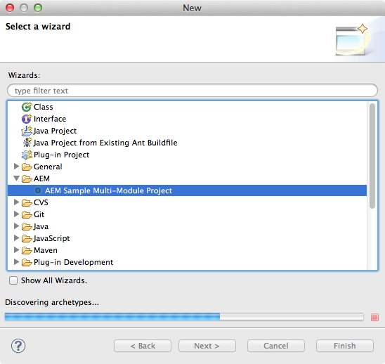 AEM Developer Tools for Eclipse
