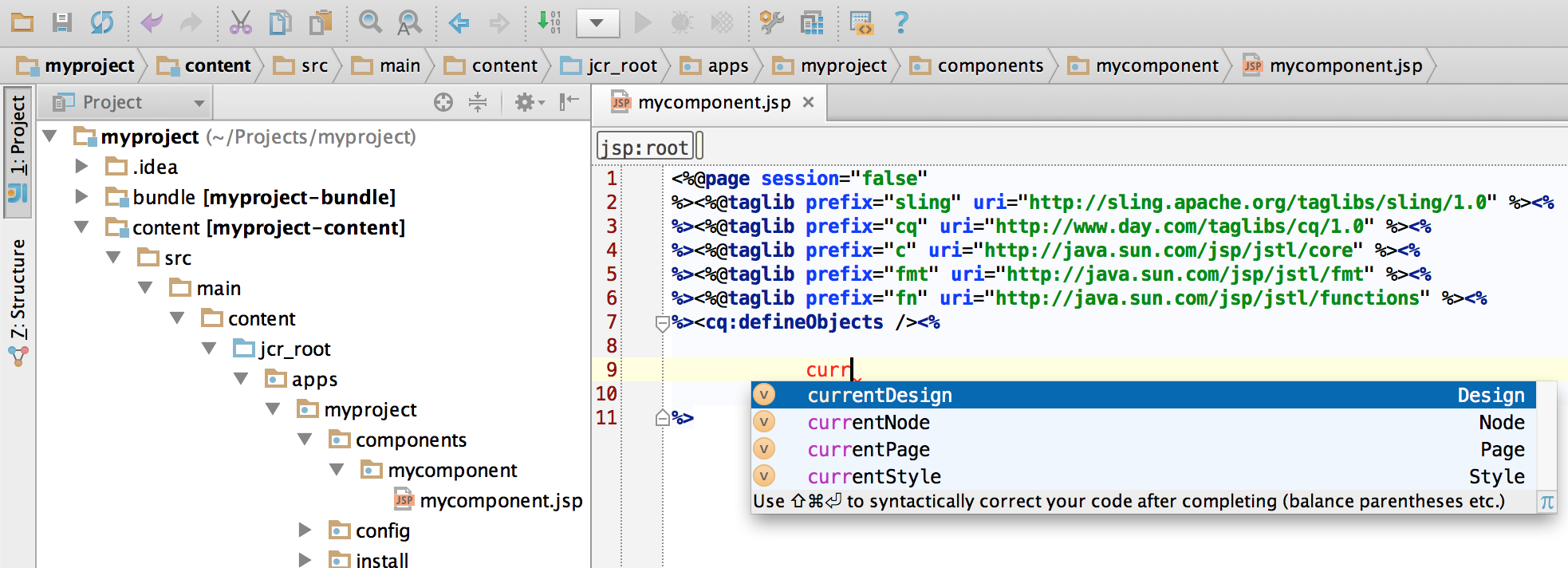 How to Develop AEM Projects using IntelliJ IDEA