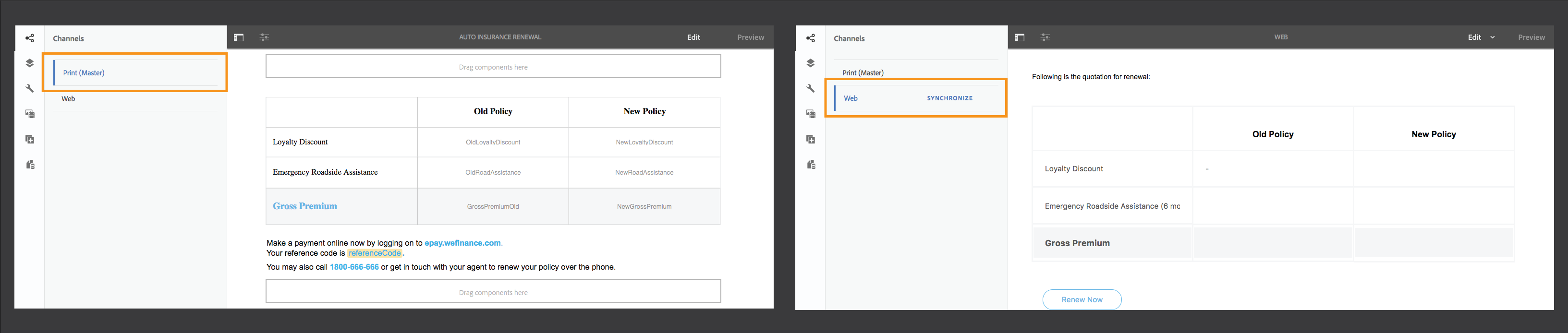 New features summary | AEM 6 4 Forms