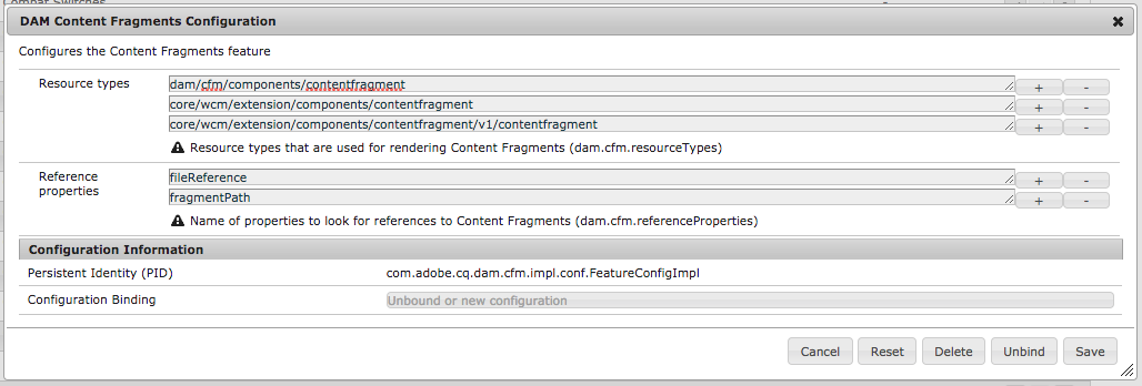 Customizing and Extending Content Fragments