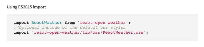 Implementing a React Component for SPA