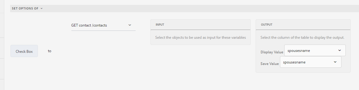 Adaptive forms rule editor