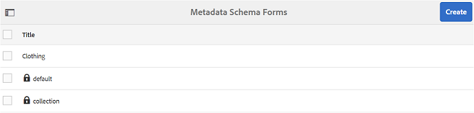 Create-metadata-schema-form