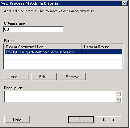 process_acthing criteria window