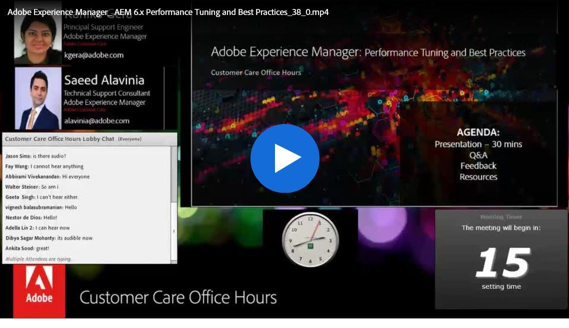 Adobe Experience Manager: 6.x Performance Tuning U0026 Best Practices