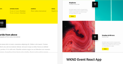 Getting Started with the AEM SPA Editor and React JS - WKND Events