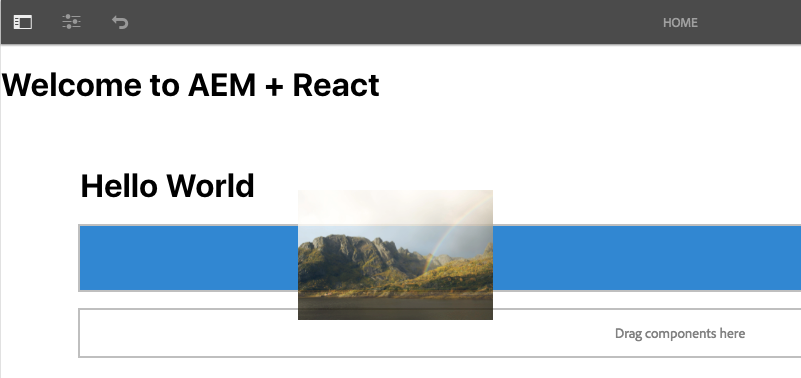 Getting Started with React and AEM SPA Editor - Chapter 1