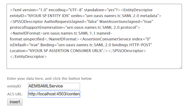 Integrating SAML with Adobe Experience Manager