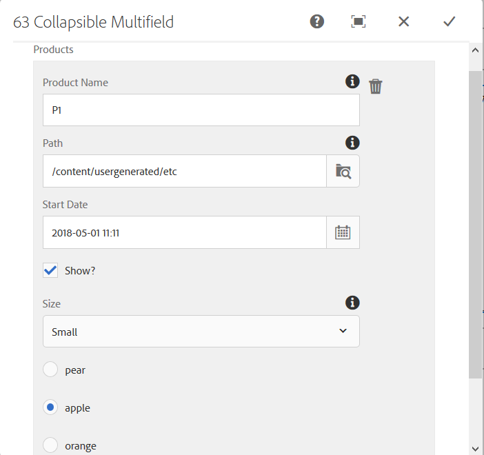 Building Experience Manager Components using Granite/Coral Resource