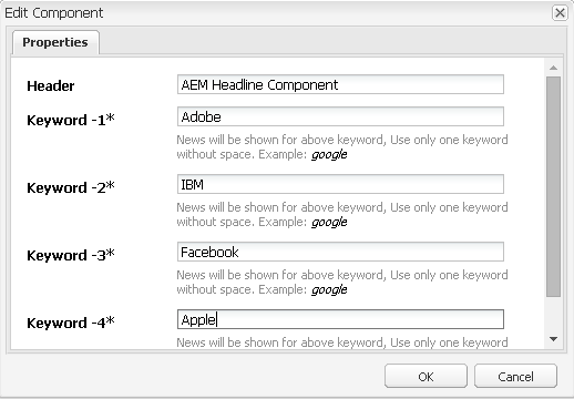 Creating an Adobe Experience Manager HTL Headline component