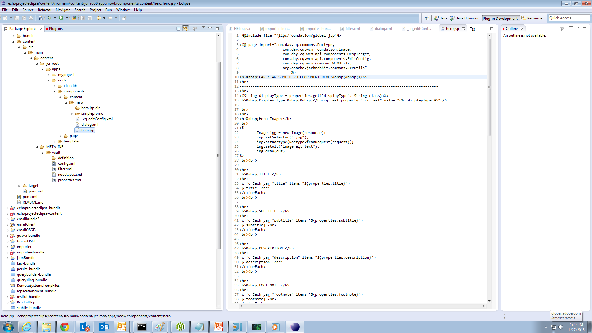 Creating An Adobe Experience Manager Project Using Eclipse Ide