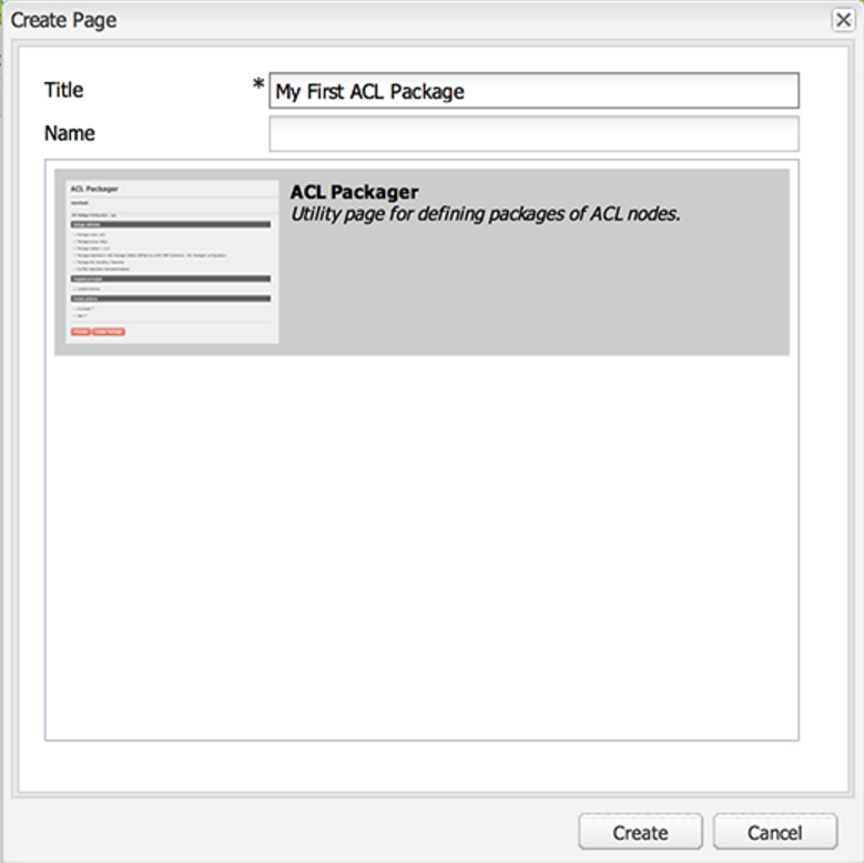 Creating Adobe Experience Manager Packages using the