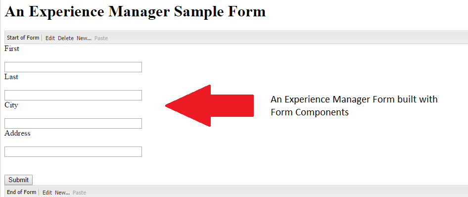 Creating a custom action for an Adobe Experience Manager Form component