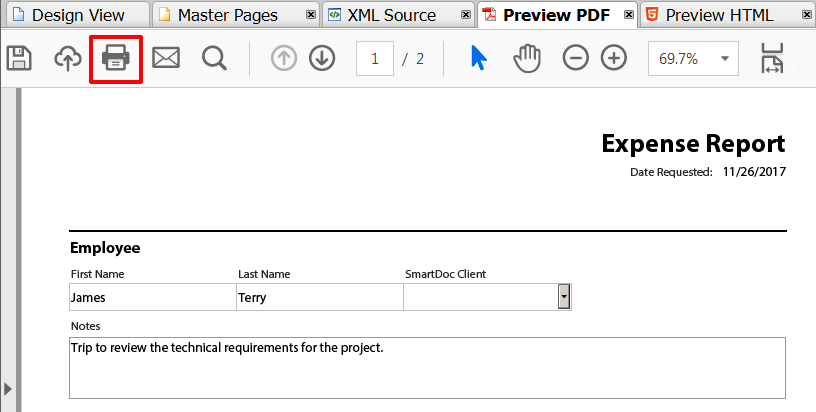 pdf forms and documents