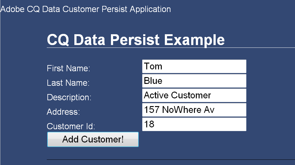 Persisting Adobe Experience Manager data in the Java Content