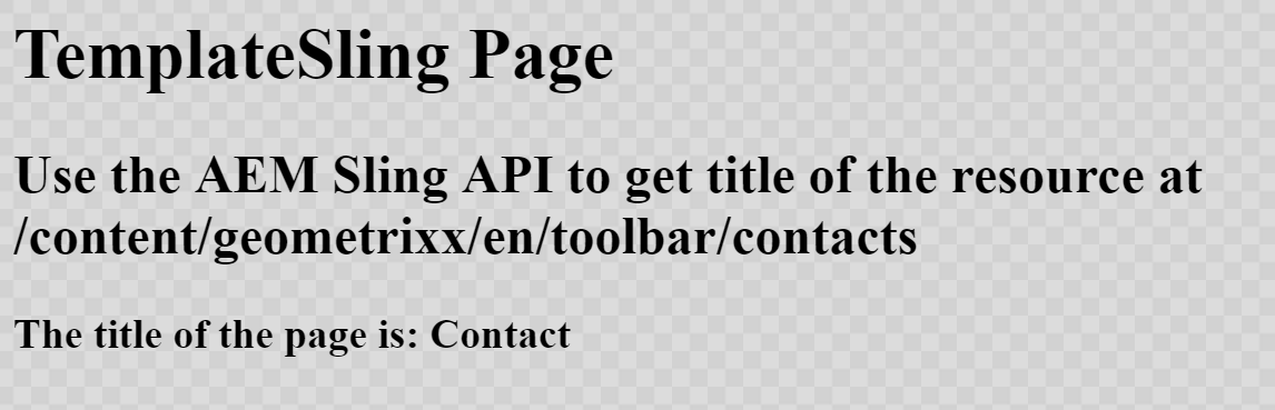 Using the Sling API to Query AEM Resources that belong to a