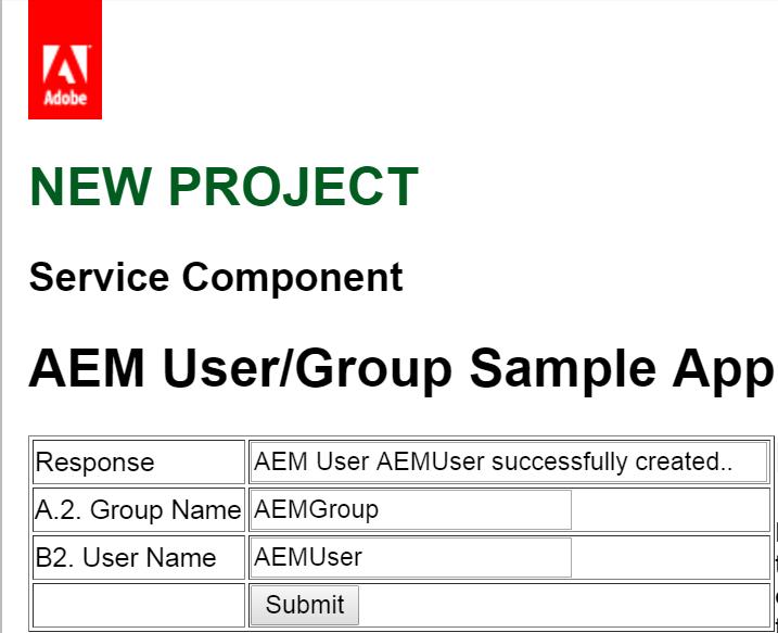 Using Jackrabbit UserManager APIs to create Adobe Experience