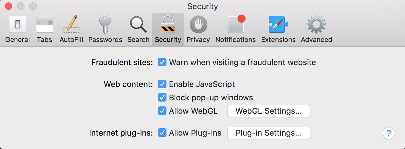 Click Plug-in Settings