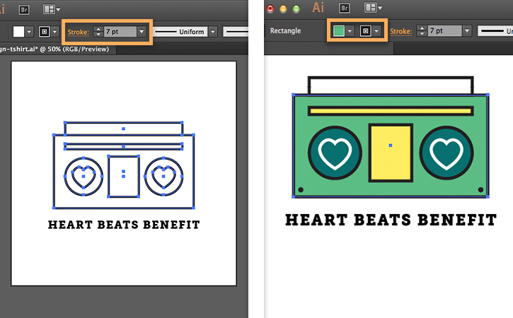 how to create a t-shirt in adobe illustrator