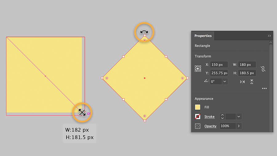 How To Draw And Create Basic Shapes Adobe Illustrator