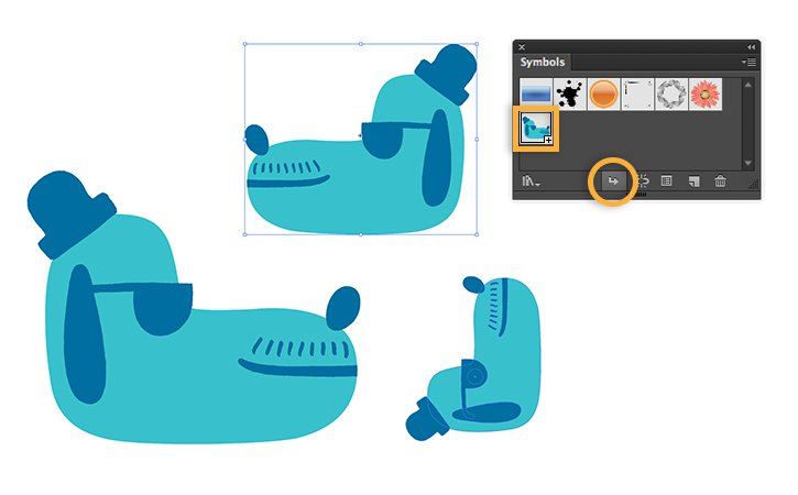How To Use Dynamic Symbols In Illustrator Adobe Illustrator Cc