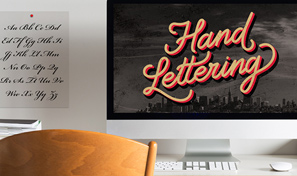 How to create lettering