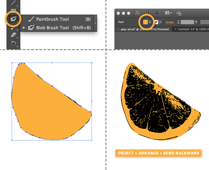 how to change weight color to transparent adobe illustrator