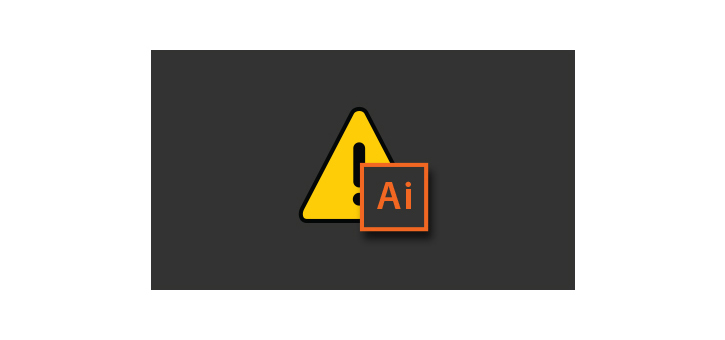 Illustrator crash icon