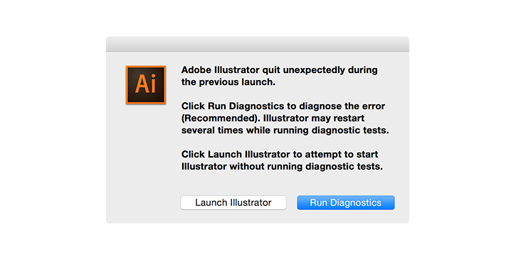 Click the Run Diagnostics button