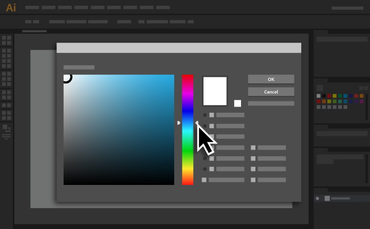 how to use the color picker