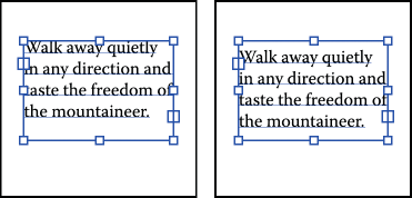 Text baseline in text area