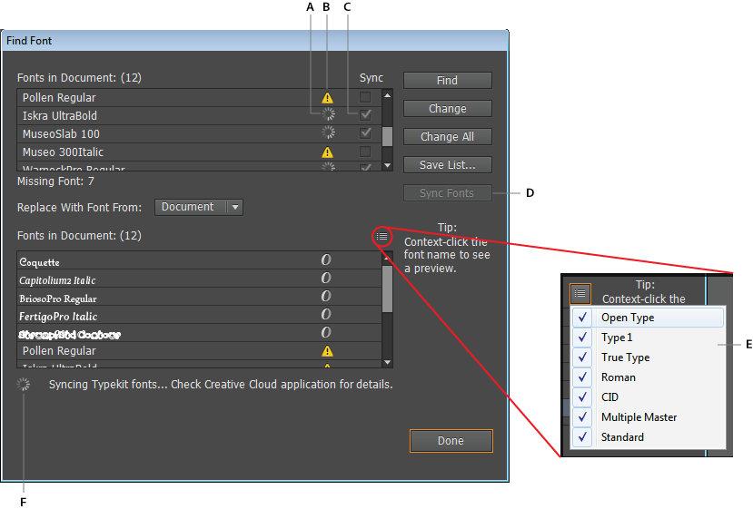 Find all the fonts used in a Photoshop file - Super User