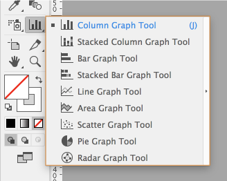 Create different types of graphs in Illustrator