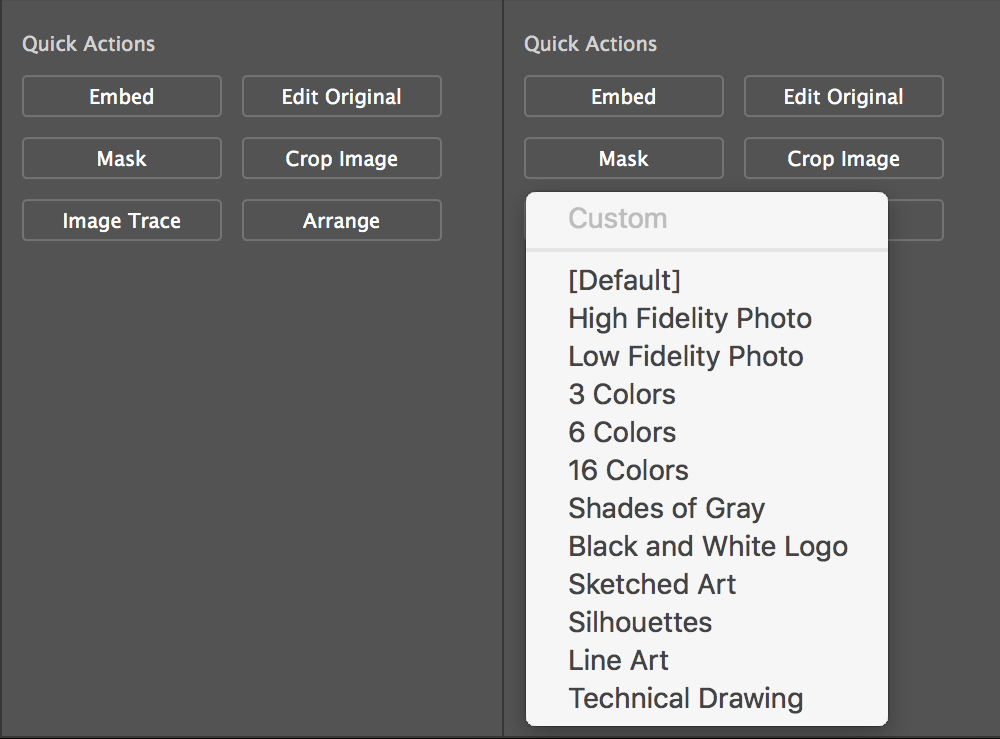 Optimize Results Using Image Trace
