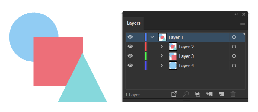 Release To Layers (Build) command creates new layers