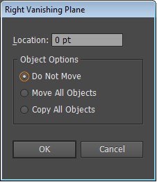 Setting options for perpendicular movement of all objects on the selected grid plane
