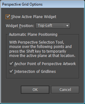 Automatic Plane Positioning options