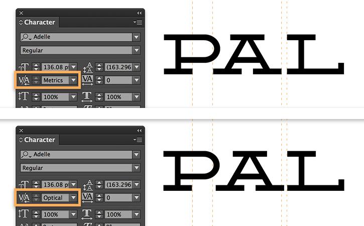 Adjust Letter Spacing Tracking And Kerning In Indesign Adobe