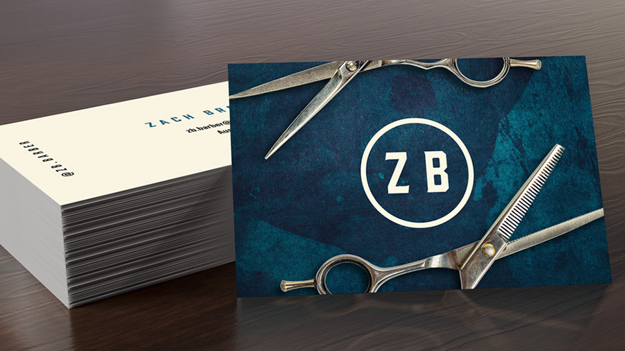 How To Design A Custom Business Card Using Your Own Assets Adobe Indesign Tutorials