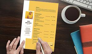 Create A Professional Resume Adobe Indesign Tutorials