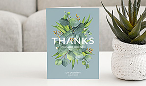 Create custom thank you cards