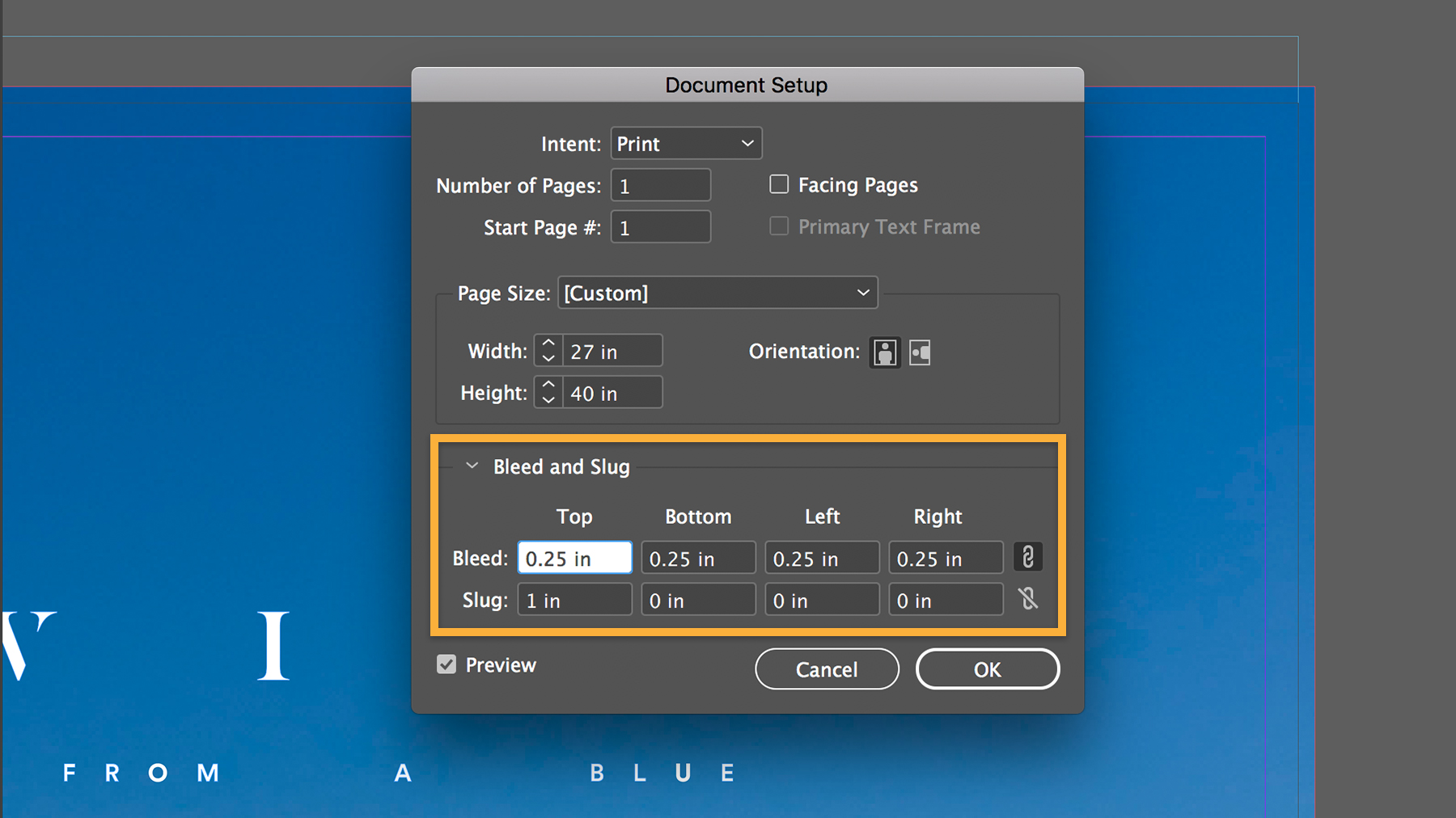 How to set a print bleed in InDesign | Adobe InDesign tutorials