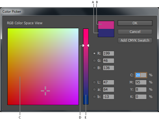 indesign color swatch library download