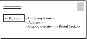 The target document includes fields from the data source