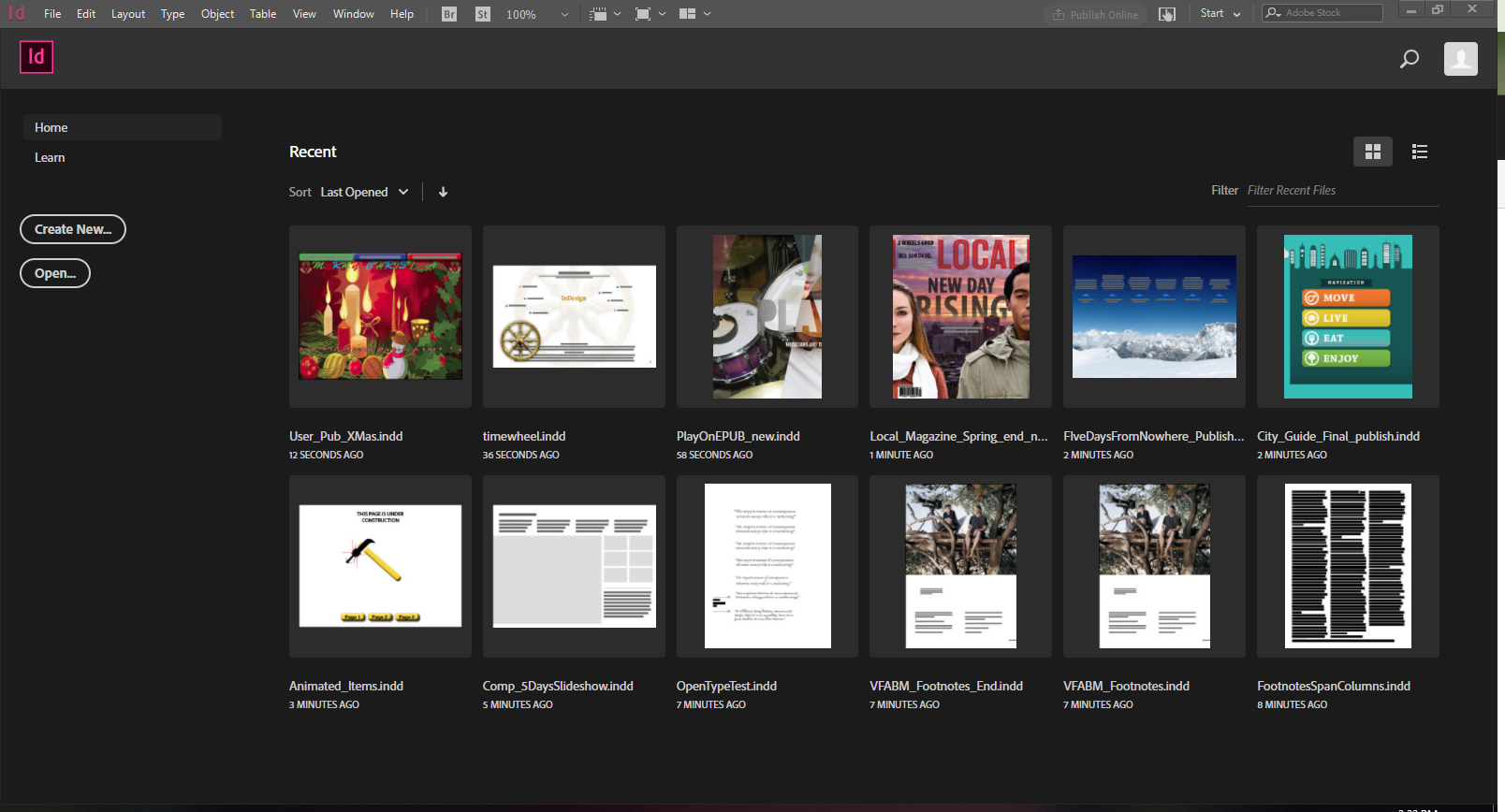 Workspace Basics In Indesign