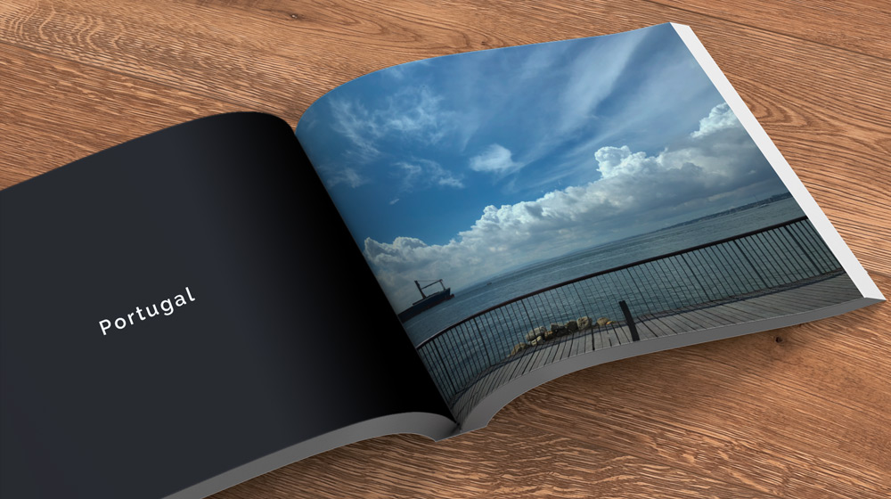 clouds photo book