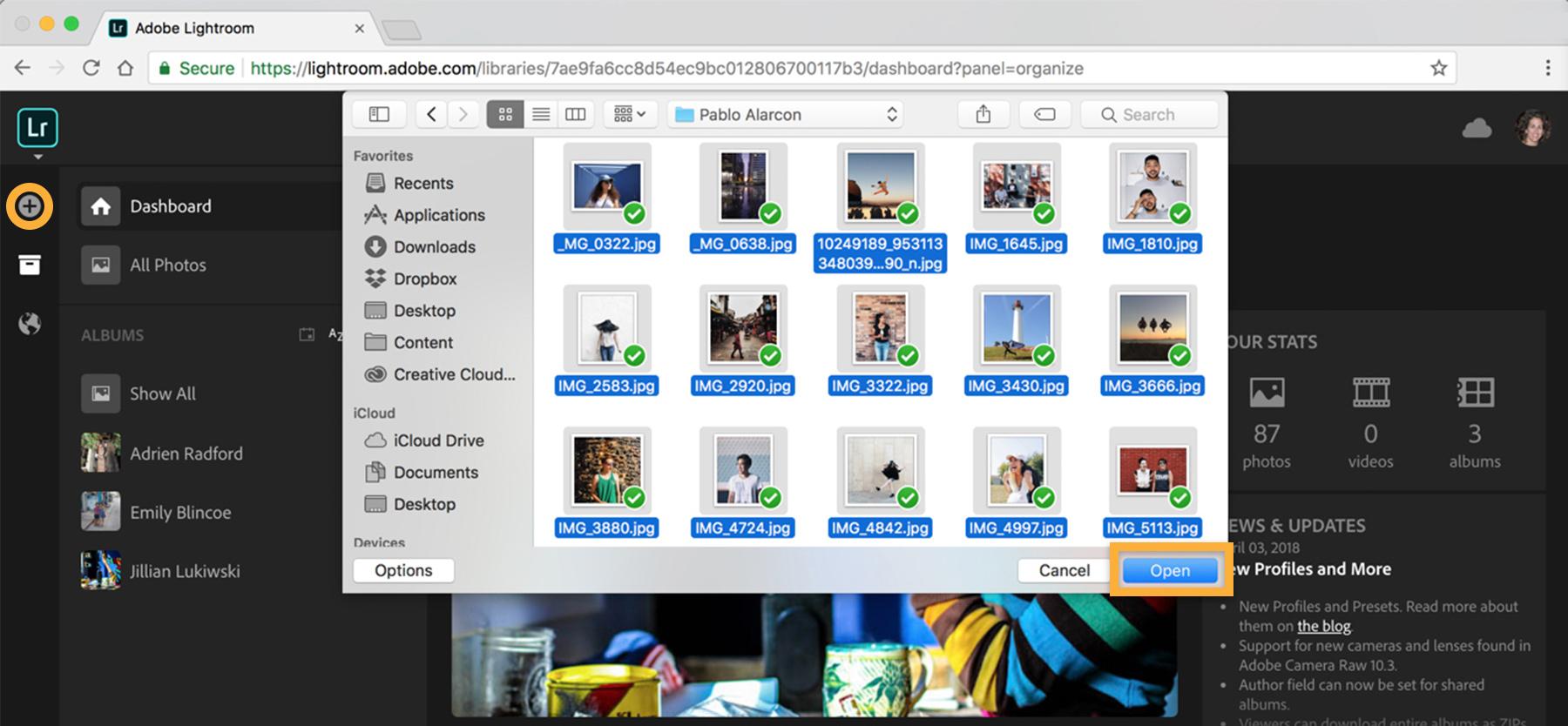 Online photo editor and organizer   Adobe Photoshop Lightroom ...